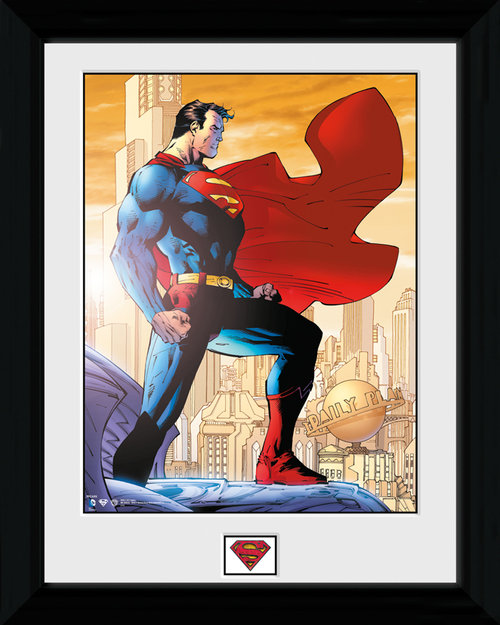 Poster Superman Daily Planet incorniciato