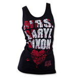 Canotta The Walking Dead Mrs. Daryl Dixon Blood Splatter