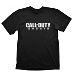 T-shirt Call Of Duty Ghosts Logo Medium