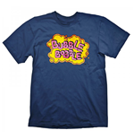 T-shirt Bubble Bobble  Vintage Logo Large