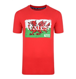 T-shirt Wales Rwc 2015 Rugby