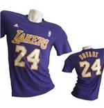 Los Angeles Lakers T-SHIRT Bryant Numerata