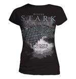 "T-Shirt donna Game Of Thrones ""casata Stark"""