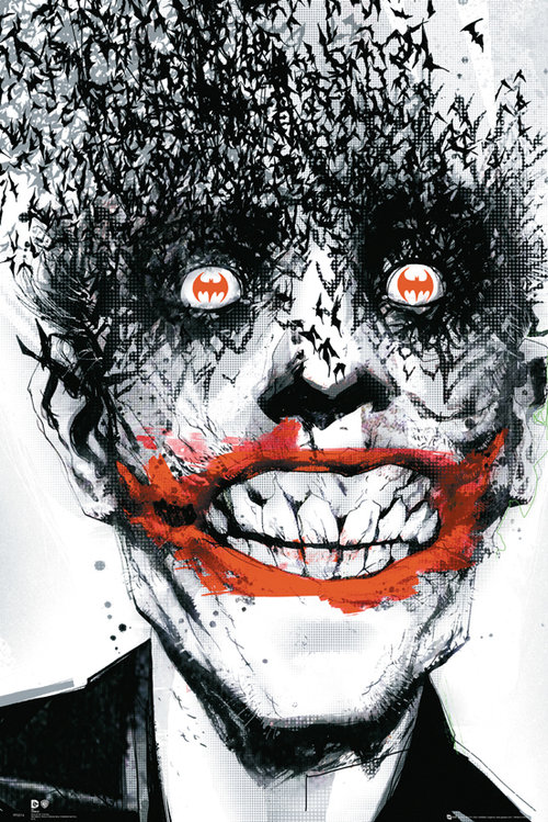 Poster Batman Comics Joker Bats