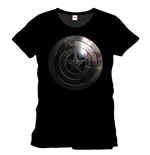 T-shirt Captain America Silver Shield