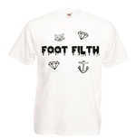 T-shirt con stampa transfer - Foot Filth