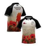 Maglia British Army Letter Home Poppy Rugby