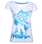 T-shirt NINTENDO SUPER MARIO BROS. Mario Medium da donna