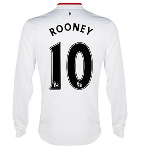 Maglia Manchester United 2012-13 Away (Rooney 10)