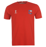 T-shirt Cile 2014 FIFA Core