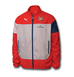 Giacca Arsenal 2014-2015 Puma Leisure