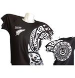 Nuova Zelanda T-SHIRT Tribal FULL-PRINT