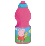 Peppa Pig borraccia sport (400 ml) 7x7x18 cm