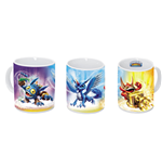 Skylanders Giants Popfizz, Whirlwind, Trigger Happy tazza (320 ml) - in confezione regalo 12x9x10 cm
