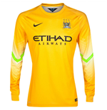 Maglia portiere Manchester City 2014-2015 Away Nike