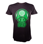 T-shirt NINTENDO SUPER MARIO BROS. 1-Up - L