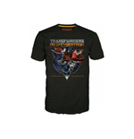 T-shirt TRANSFORMERS Fall of Cybertron Optimus Space - L