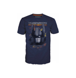 T-shirt TRANSFORMERS Fall of Cybertron Optimus Fire - L