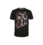 T-shirt TRANSFORMERS Fall of Cybertron Megatron Rain - M