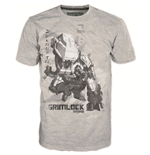 T-shirt TRANSFORMERS Fall of Cybertron Grimlock - S