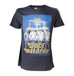 T-shirt SPACE INVADERS Alien Astronauts - L