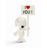 Statuetta I Love You! Snoopy 7 cm