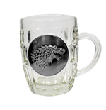 Bicchiere Game of Thrones Metallic Logo
