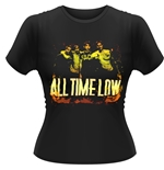 T-shirt All Time Low - Metal Finger