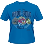 T-shirt Angry Birds Star Wars - Let The Good Side Roll
