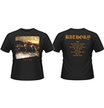T-shirt Bathory Blood Fire Death