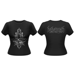 T-shirt Behemoth Inverted Cross