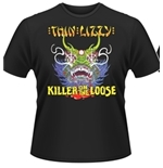 T-shirt Thin Lizzy Killer On The Loose