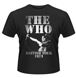 T-shirt The Who British Tour 1973