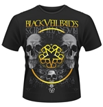 T-shirt Black Veil Brides Greyskull