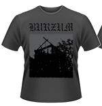 T-shirt Burzum Aske (GREY)