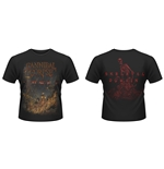 T-shirt Cannibal Corpse A Skeletal Domain 2