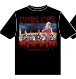 T-shirt Cannibal Corpse Eaten Back To Life