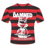 T-shirt The Damned I Just CAN'T Be Happy Today (STRIPES)