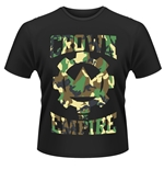 T-shirt Crown The Empire Run And Hide