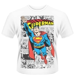 T-shirt Superman Comic Strip