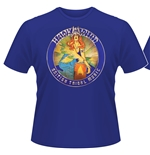 T-shirt Hawkwind British Tribal Music