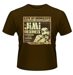 "T-shirt Jimi Hendrix ""Live At Berkeley"""