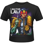 T-shirt Judge Dredd I Am The Law