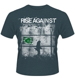 T-shirt Rise Against Borders 2