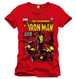 T-shirt Iron Man Never Seen Before