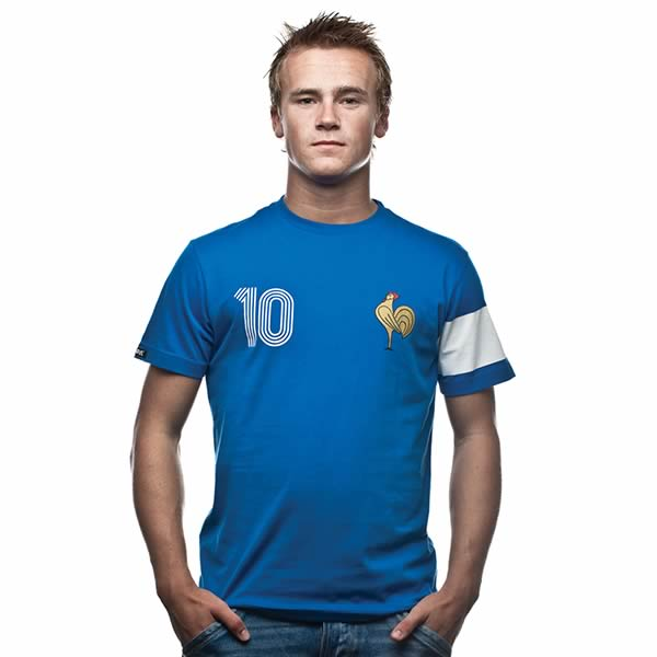 T-shirt Francia Capitaine
