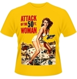 T-shirt Plan 9 - Attack Of The 50FT Woman