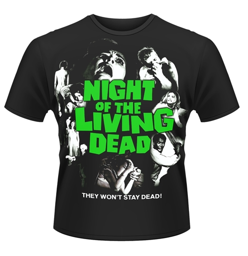 T-shirt La notte dei morti viventi Night Of The Living Dead