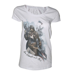 T-shirt ASSASSIN'S CREED Unity Freedom or Death - donna - L