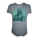 T-shirt DESTINY Warlock on Green Blocks - L